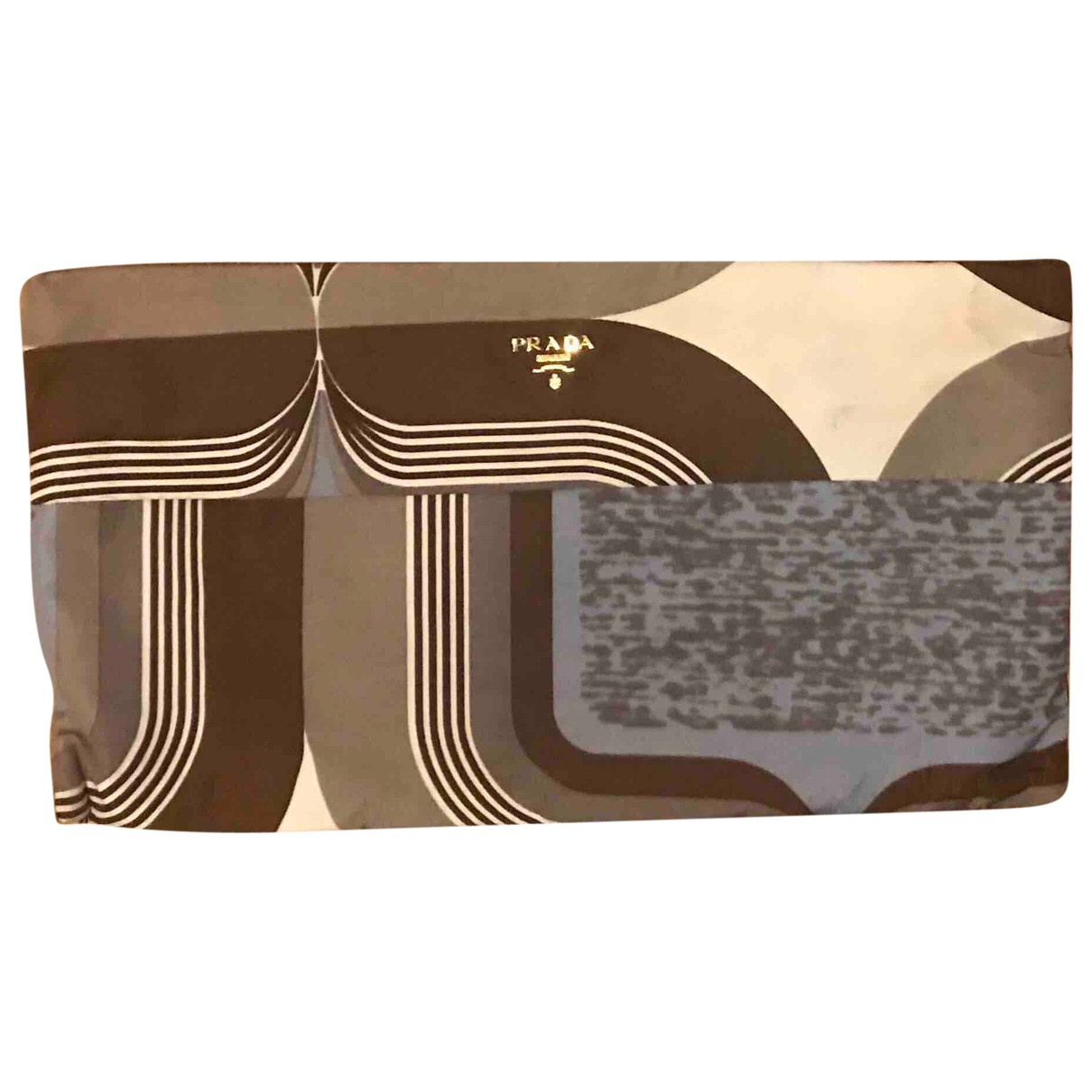 Pochette Tessuto  de Lona Prada