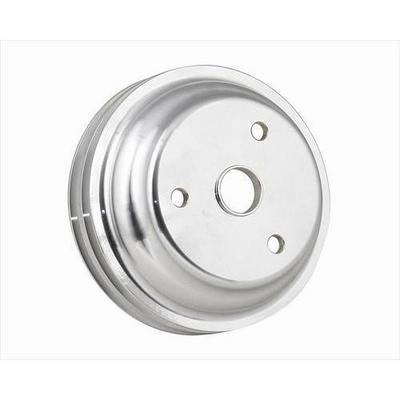 Mr. Gasket Company Billet Style Aluminum Crankshaft Pulley (Chrome) - 5317