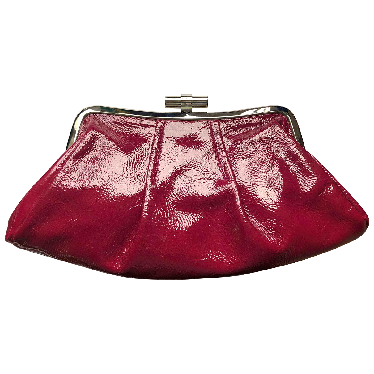 Furla \N Patent leather Clutch bag for Women \N