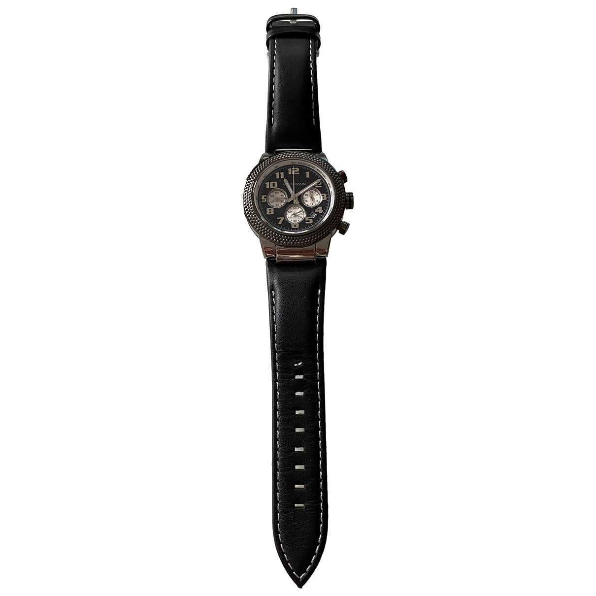Mauboussin N Black Steel watch for Women N