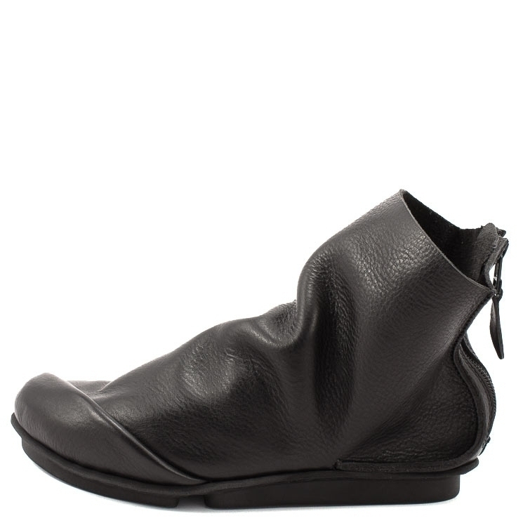 Trippen, Ploy m Penna Men's Bootees, black Größe 41