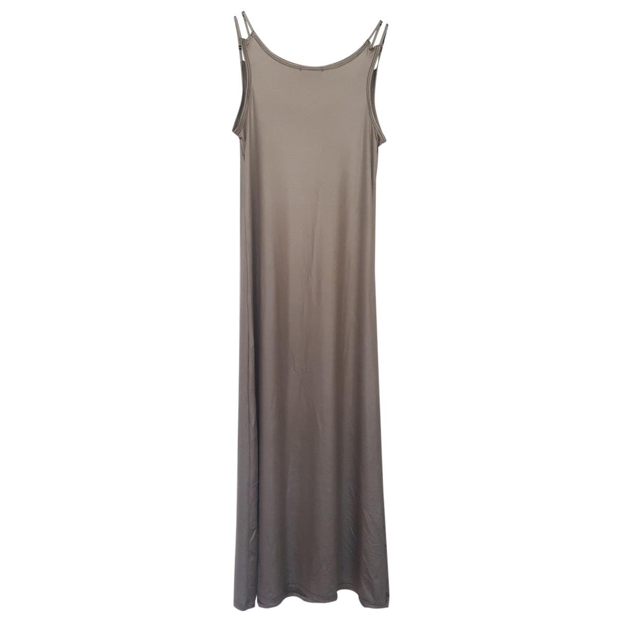 Maryam Nassir Zadeh \N Kleid in  Grau Synthetik