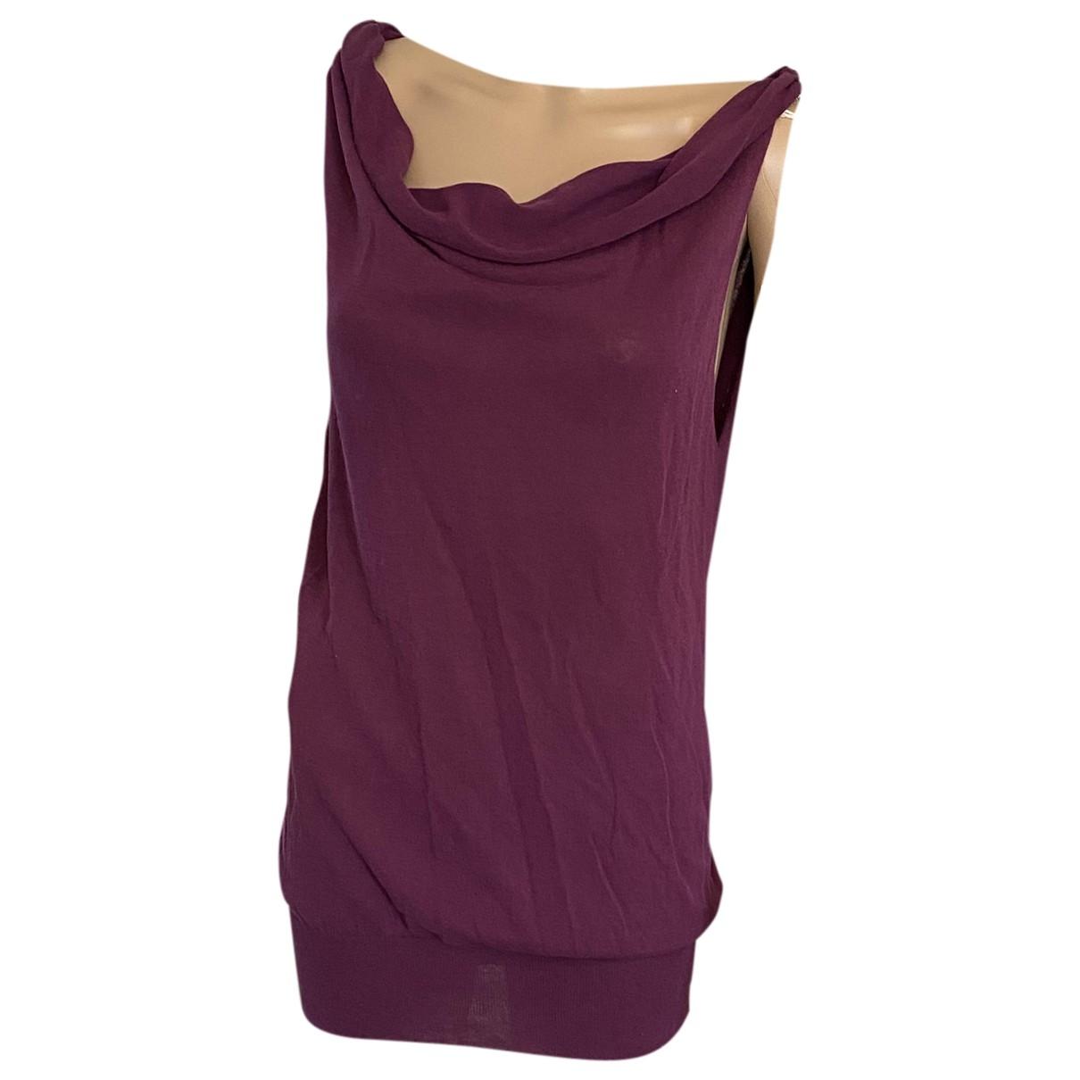 Jucca \N Pullover in  Lila Baumwolle