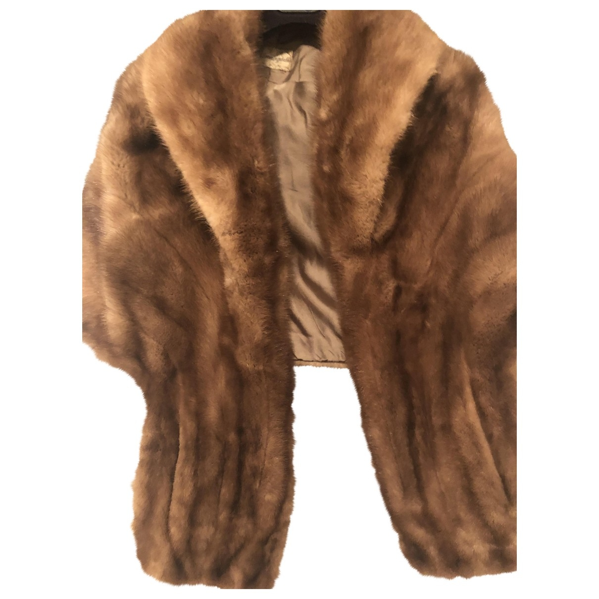 Non Signé / Unsigned \N Brown Mink coat for Women One Size International