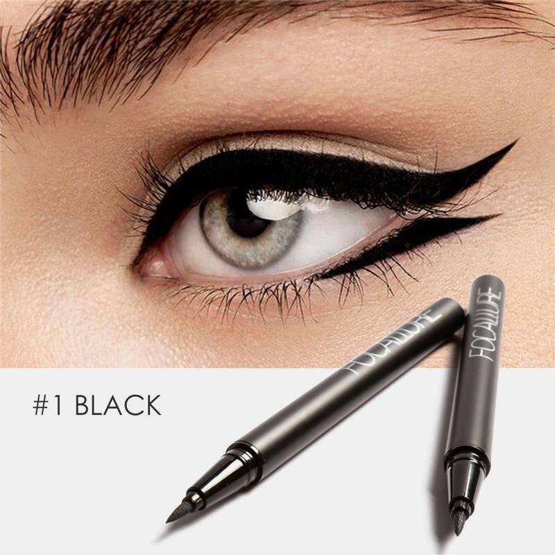 Professional Liquid Eyeliner Pen Long Lasting Waterproof Sweat-Proof No-Fade Eye Makeup