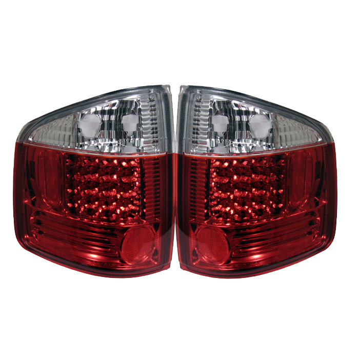 Spyder Auto ALT-YD-CS1094-LED-RC Red Clear LED Taillights GMC Sonoma 94-04