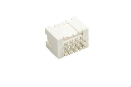 JST , XAD, B08B, 8 Way, 2 Row, Straight PCB Header (5)