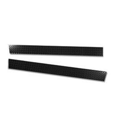 Warrior Rocker Panel Sideplates (Black) - 913BXPC