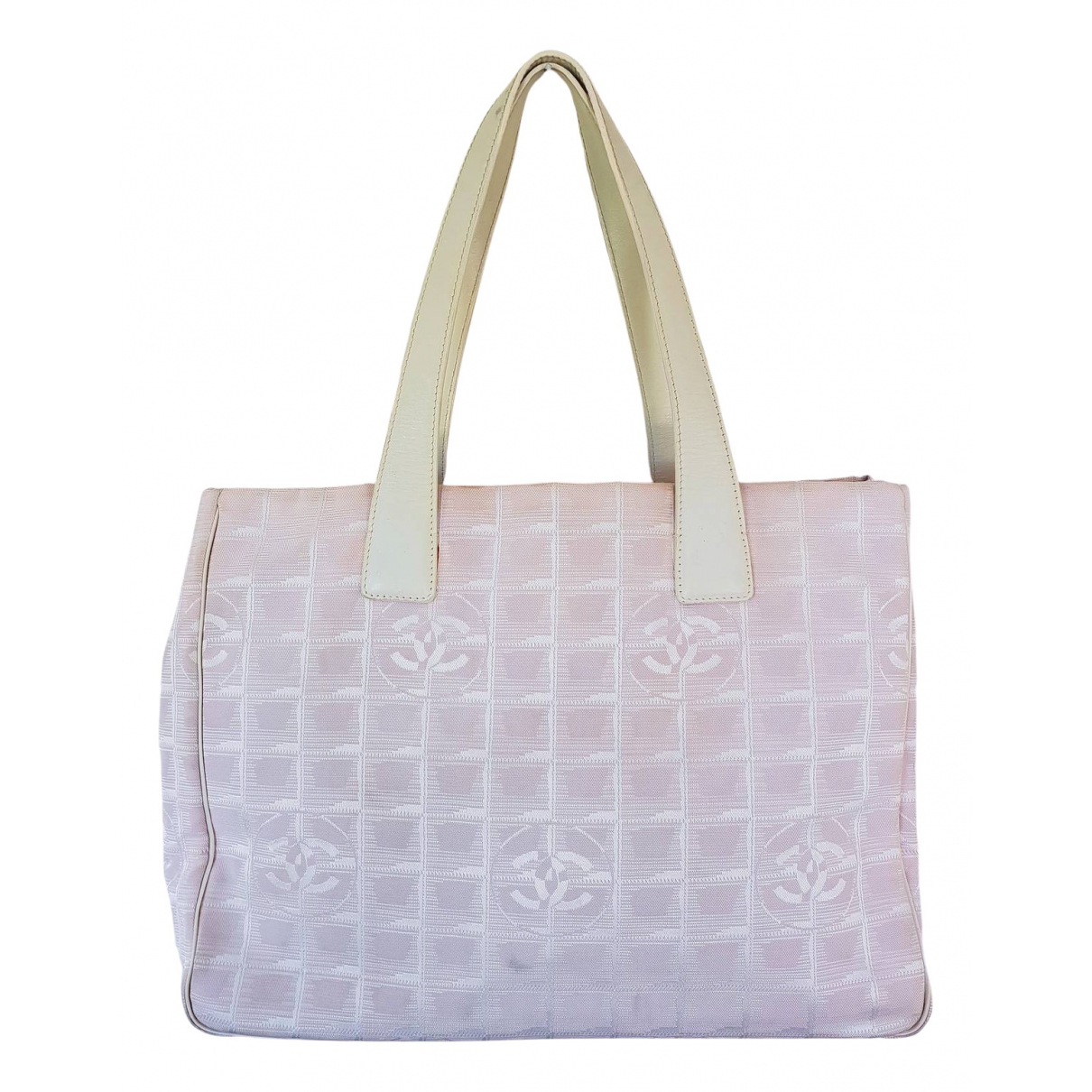 Chanel \N Pink Cloth handbag for Women \N