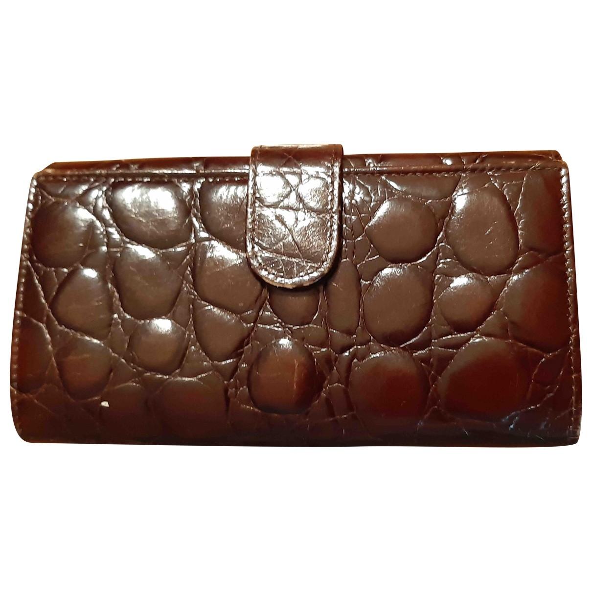 Furla - Portefeuille   pour femme en cuir - marron