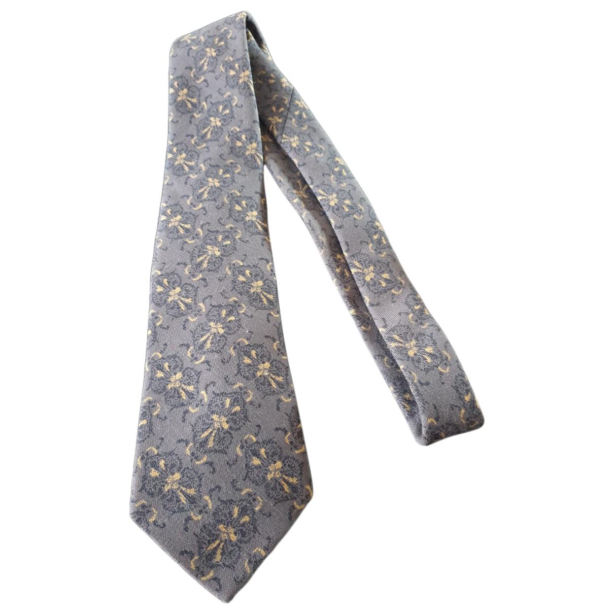 Dior - Cravates   pour homme en laine - gris