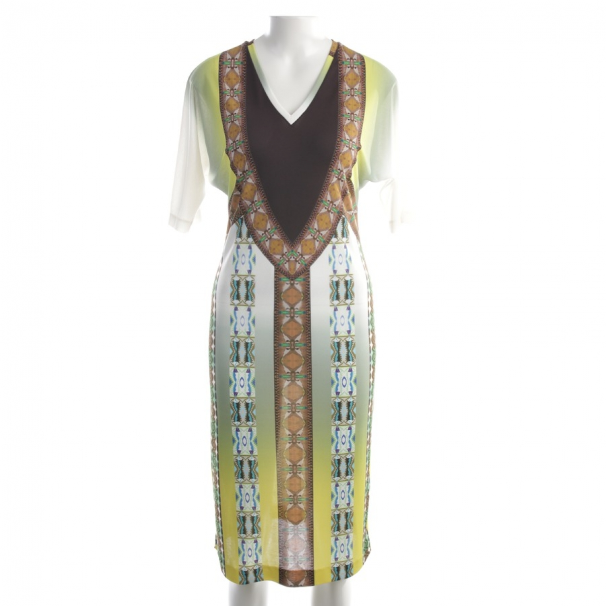 Etro \N Kleid in  Bunt Synthetik