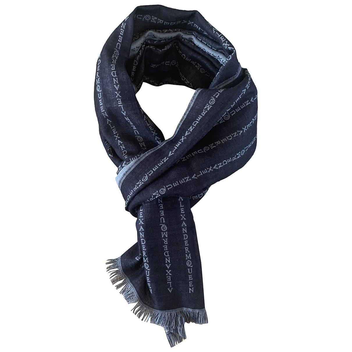 Alexander Mcqueen \N White Silk scarf for Women \N