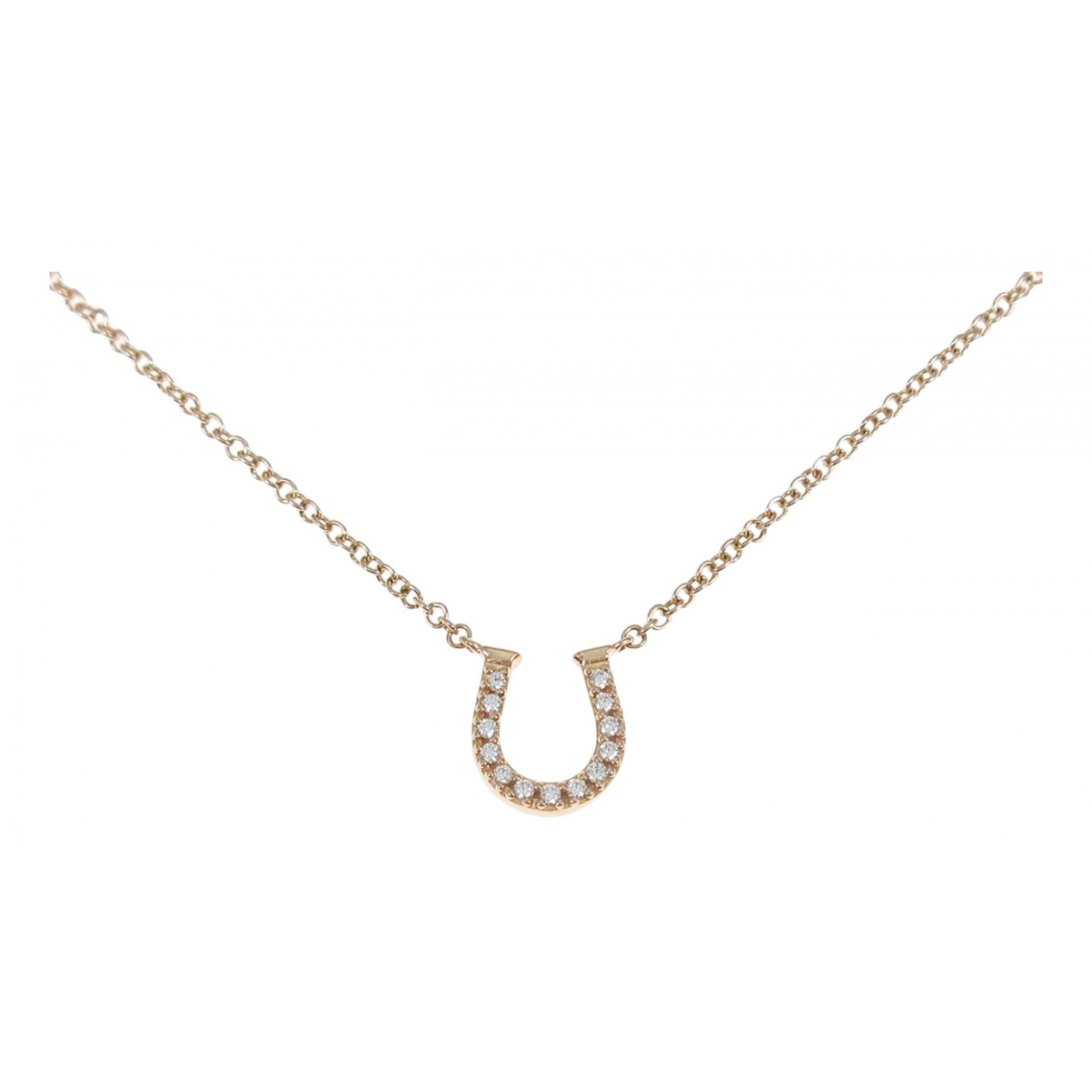 Tiffany & Co \N Kette in  Gold Rosegold