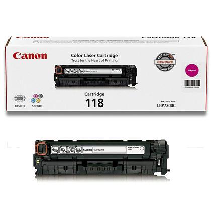 Canon 118 2660B001AA Original Magenta Toner Cartridge