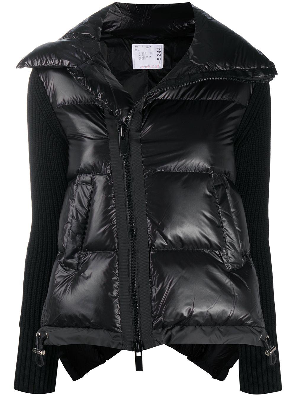 Asymmetrical Down Coat