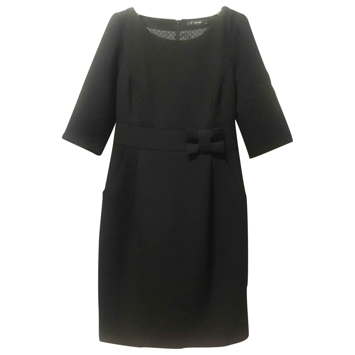 Hallhuber \N Kleid in  Schwarz Polyester