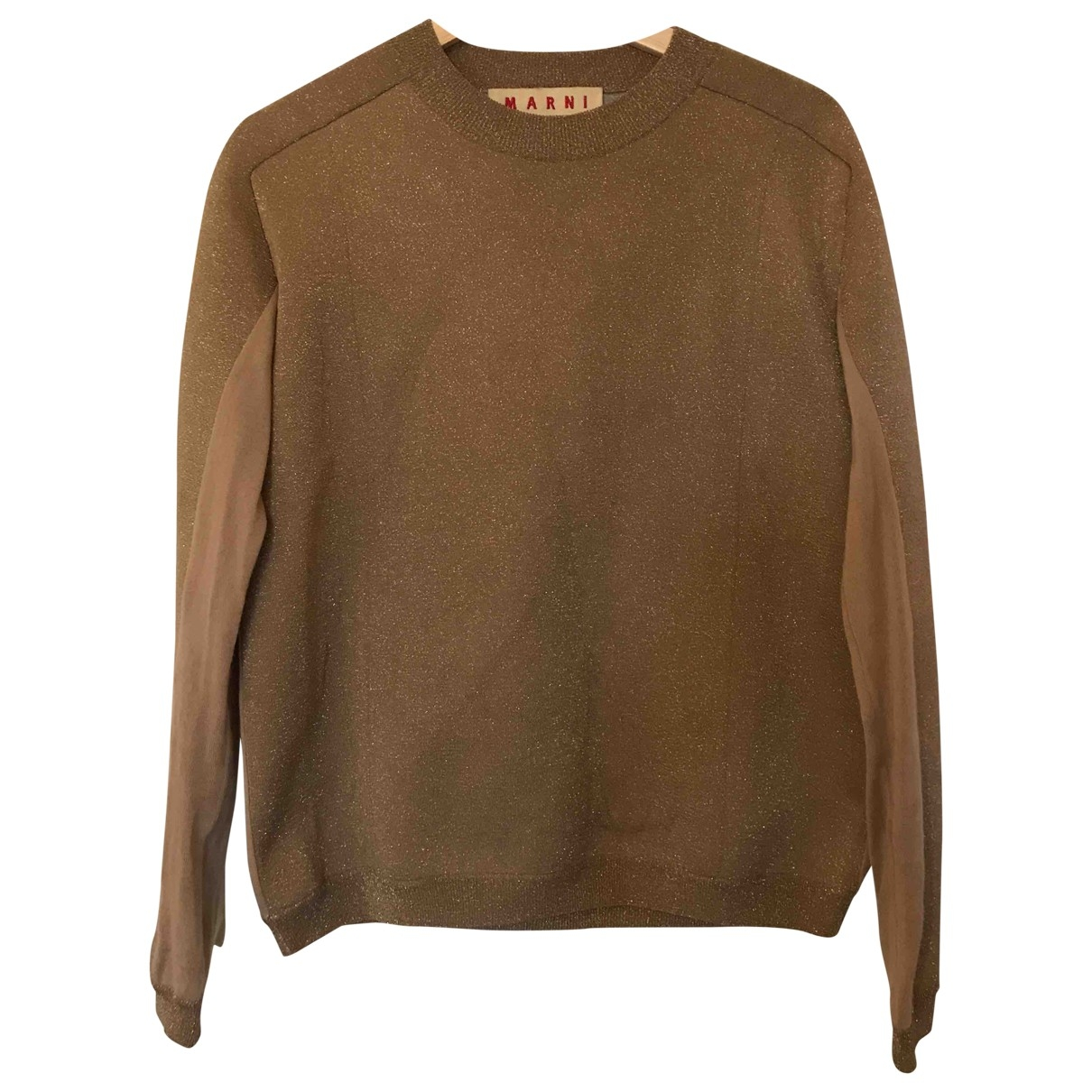 Marni \N Pullover in  Gold Viskose