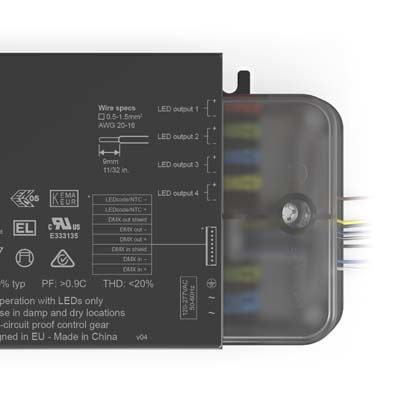 eldoLED Powerdrive AC-DC Constant Current LED Driver 50W 55V (45)