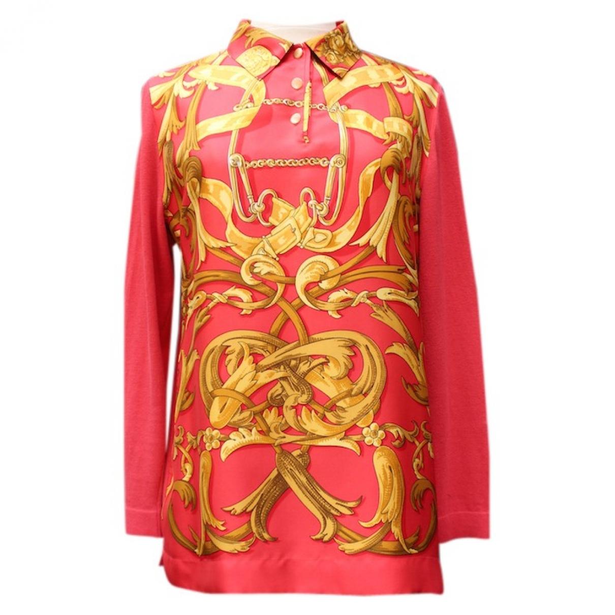 Hermès \N Red Silk Knitwear for Women S International