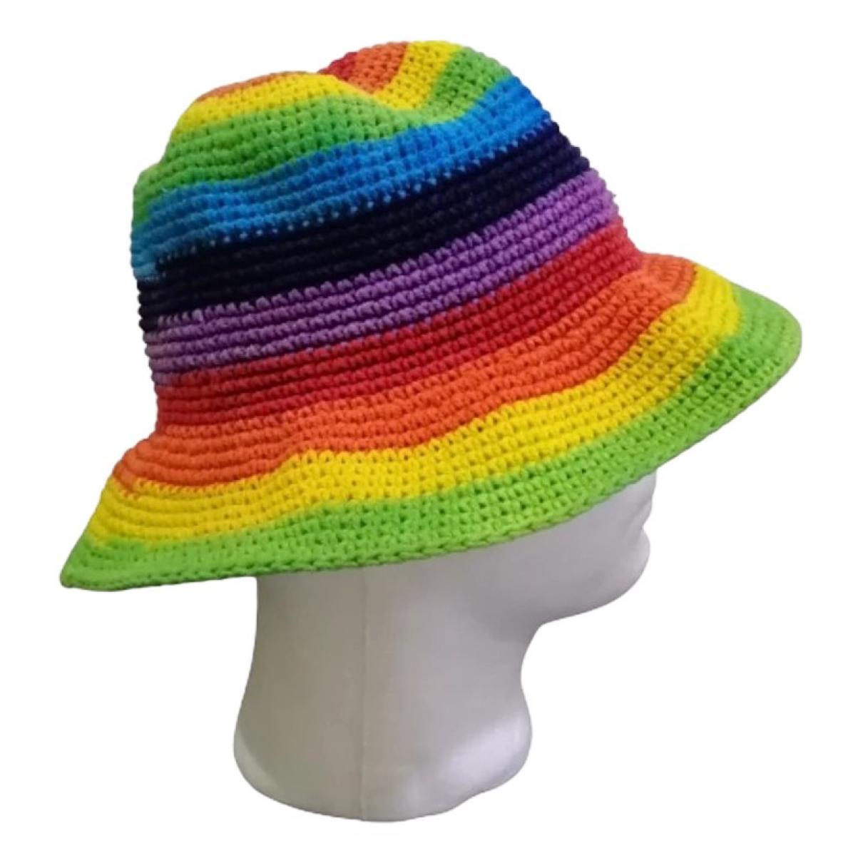 - Chapeau   pour femme en coton - multicolore