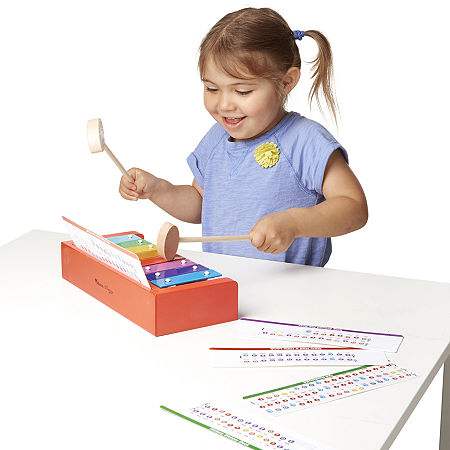 Melissa & Doug Learn-To-Play Xylophone, One Size , Multiple Colors