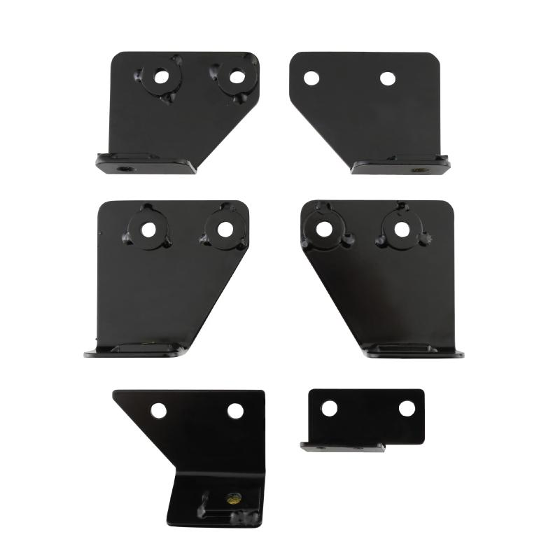 Seat Adapters Front All Seats 07-18 Wrangler JK Includes Driver And Passenger Side Smittybilt