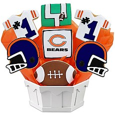 NFL Chicago Bears Cookie Bouquet