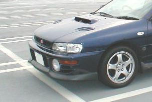 STi Front Lip 01 - Brand Painted Subaru Impreza Sedan GC 93-01