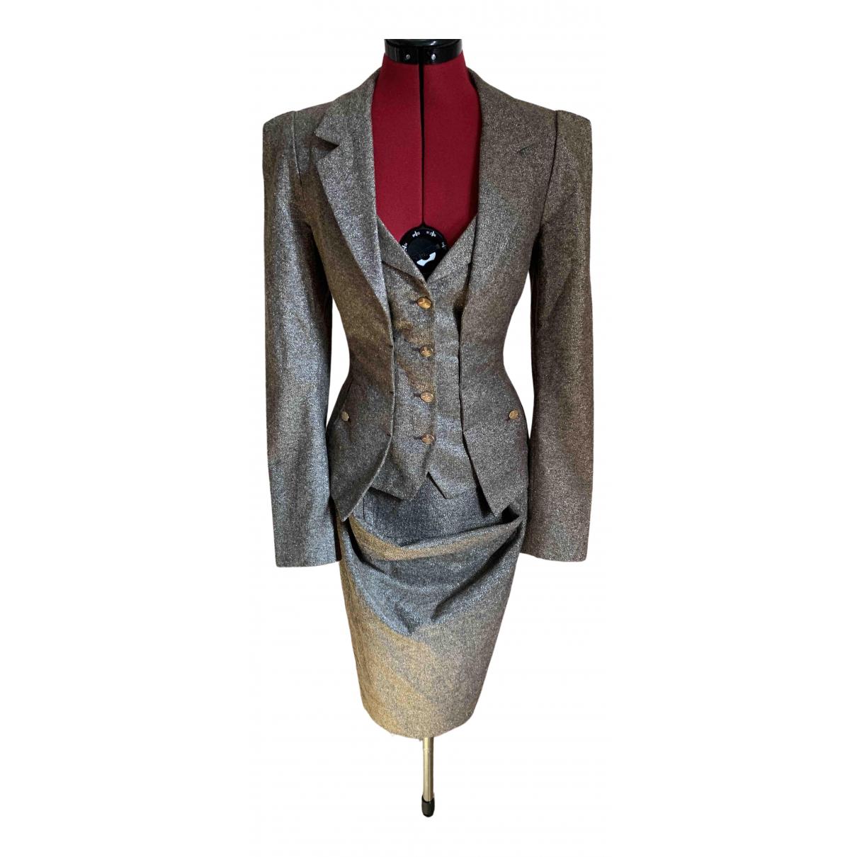 Vivienne Westwood Red Label \N Camel Wool jacket for Women 44 IT