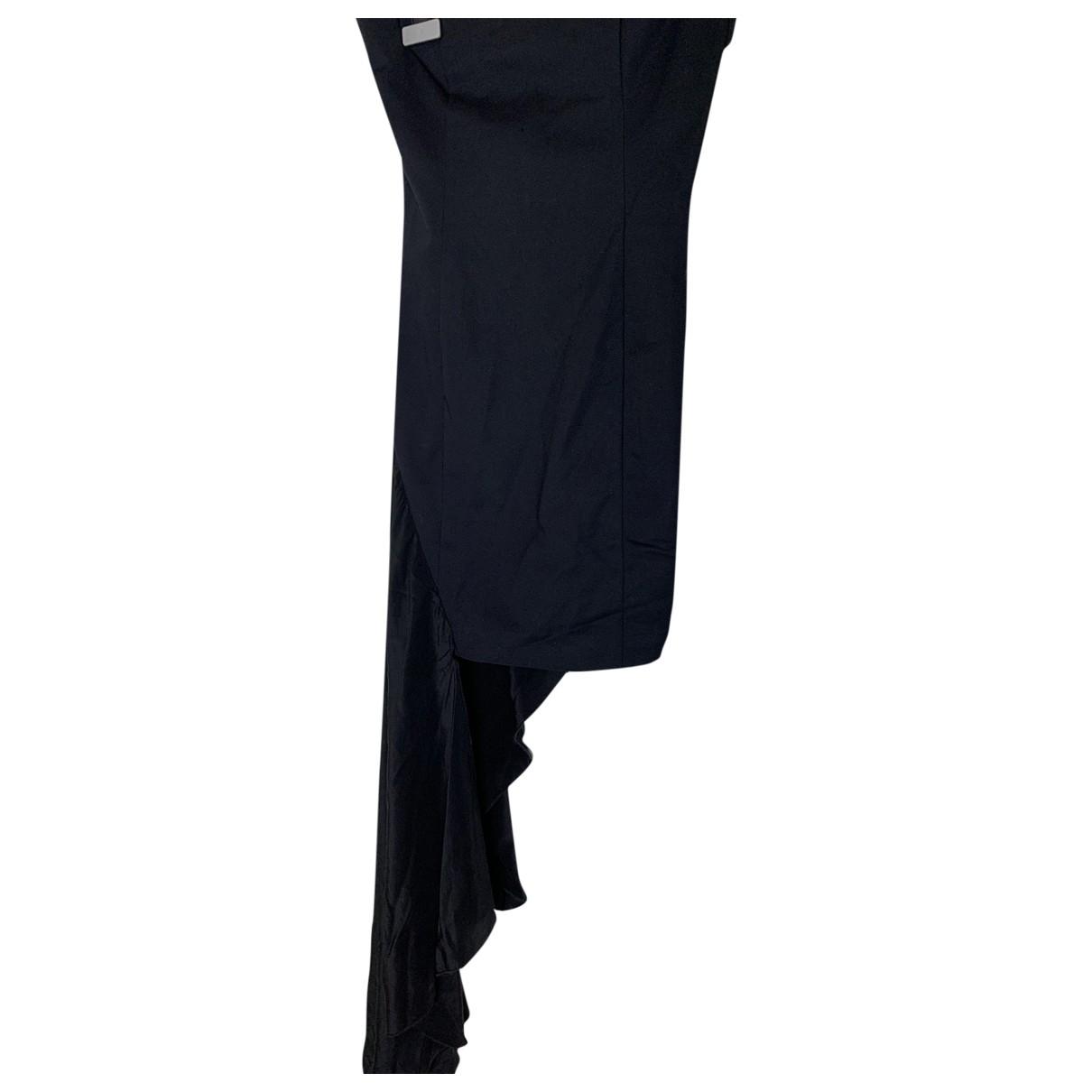 Flavio Castellani \N Black Silk dress for Women 34 FR