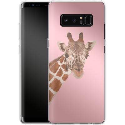 Samsung Galaxy Note 8 Silikon Handyhuelle - Giraffe Pride von Mukta Lata Barua