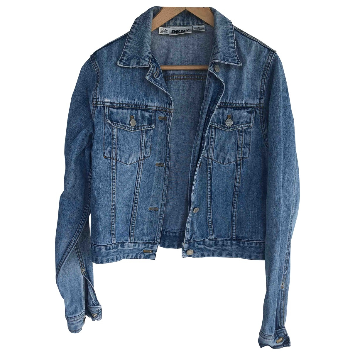 Dkny \N Jacke in  Blau Denim - Jeans