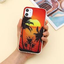 Sunset & Coconut Tree iPhone Case