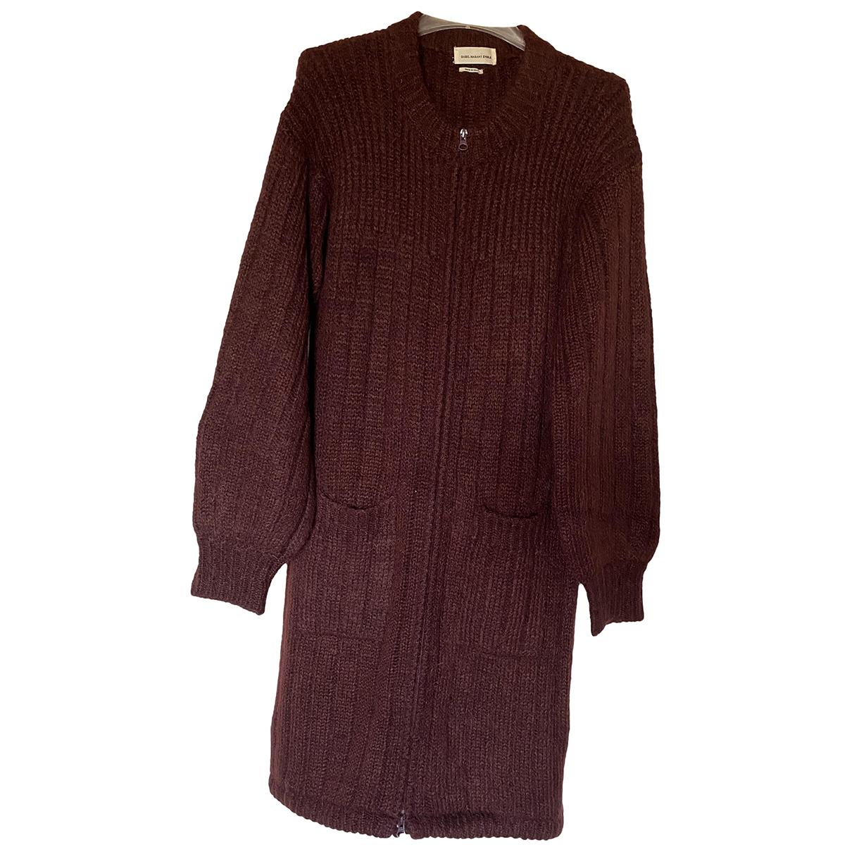 Isabel Marant Etoile - Pull   pour femme en laine - bordeaux