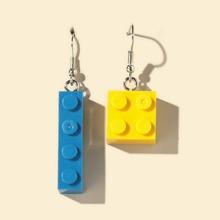 Building Block Drop Earrings