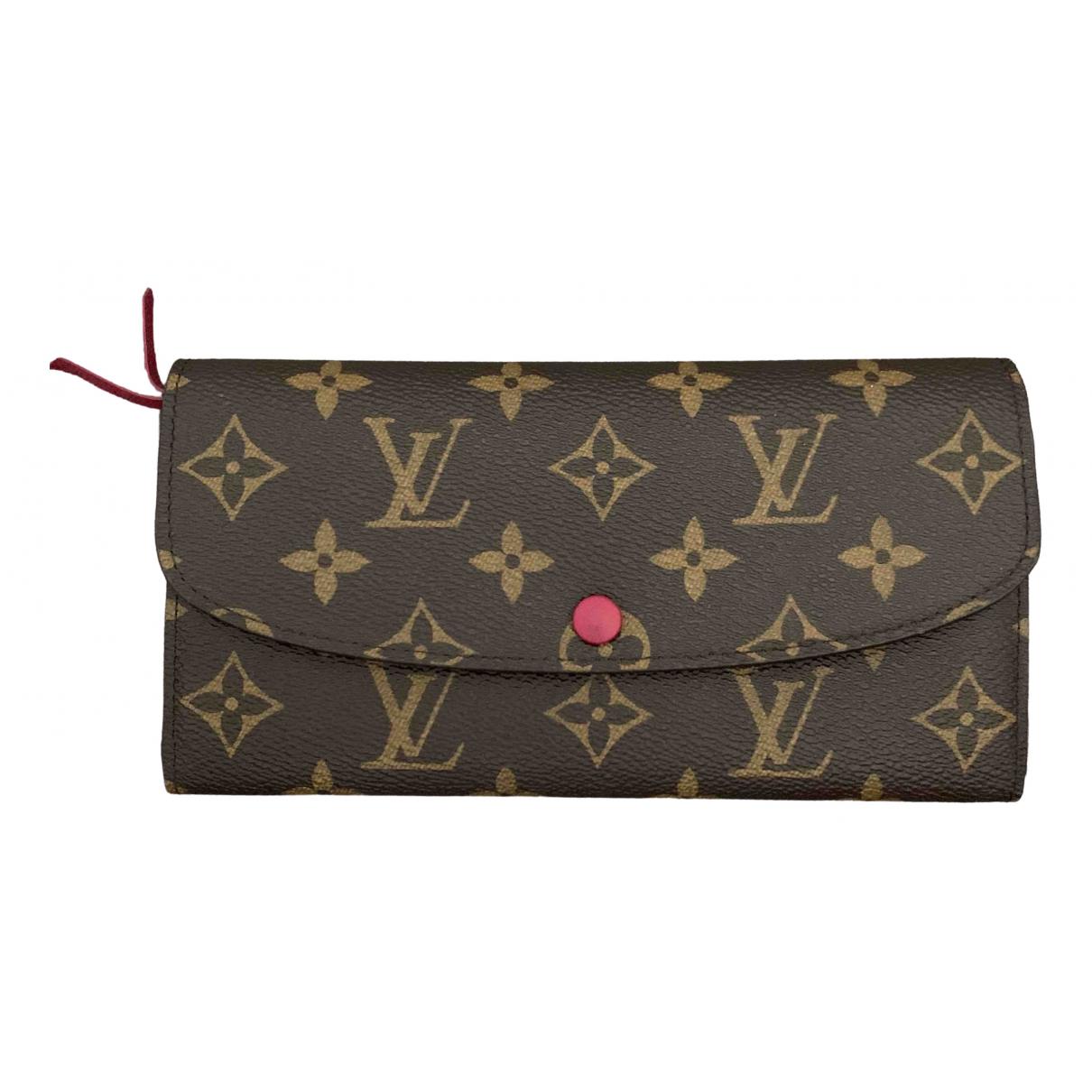 Louis Vuitton Emilie Brown Cloth wallet for Women \N