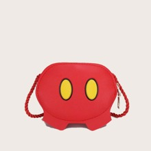 Colorblock Mini Crossbody Bag
