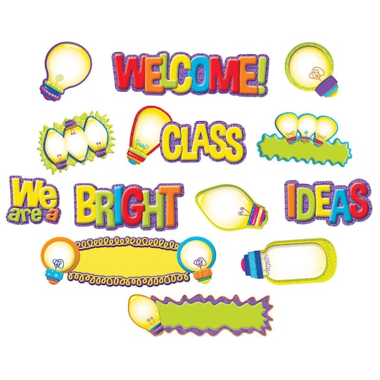 Light Bulb Mini Bulletin Board Set, 14Ct. By Ek | Michaels®