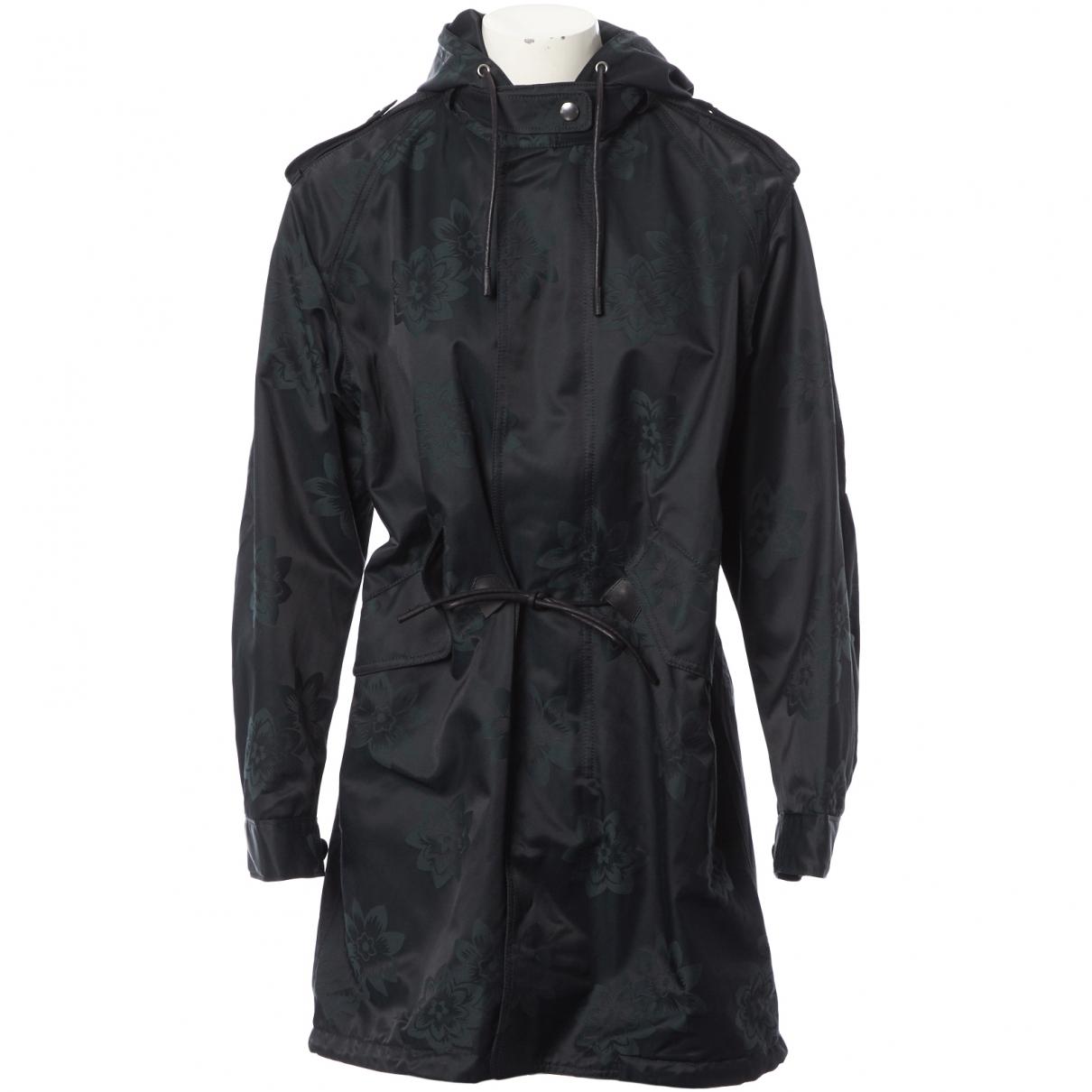 Coach - Manteau   pour femme en coton - noir