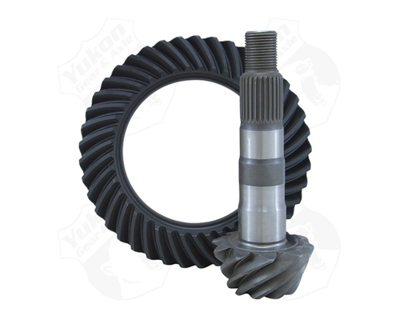 Yukon Gear & Axle YG GM7.2-456R High Performance Yukon Ring And Pinion Gear Set For GM IFS 7.2 Inch S10 And S15 In A 4.56 Ratio