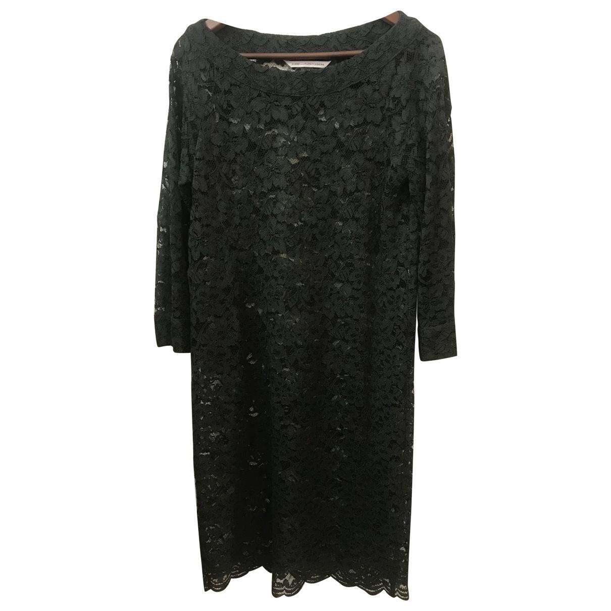 Diane Von Furstenberg \N Green Lace dress for Women 10 UK