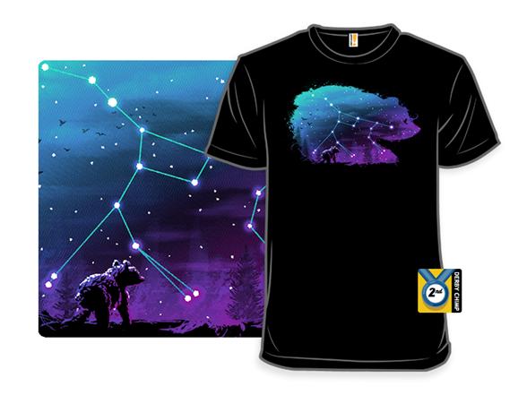 Cosmic Bear T Shirt