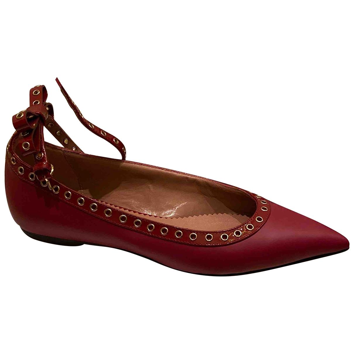 Bailarinas de Cuero Red Valentino Garavani