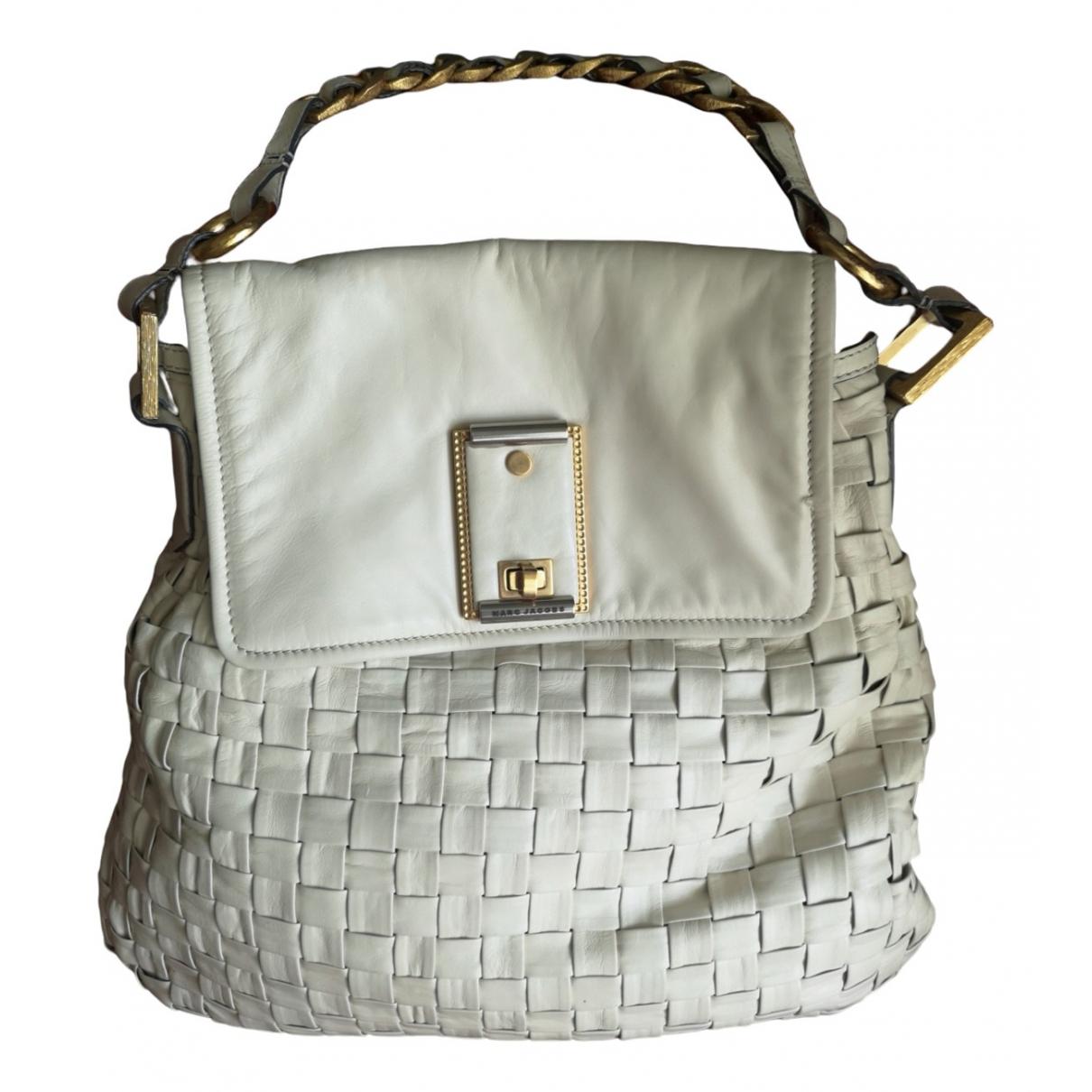 Marc Jacobs \N Handtasche in  Weiss Leder