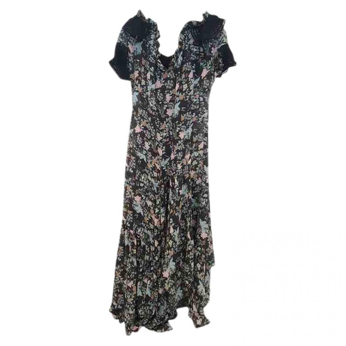 Preen By Thornton Bregazzi \N Black Silk dress for Women 8 UK