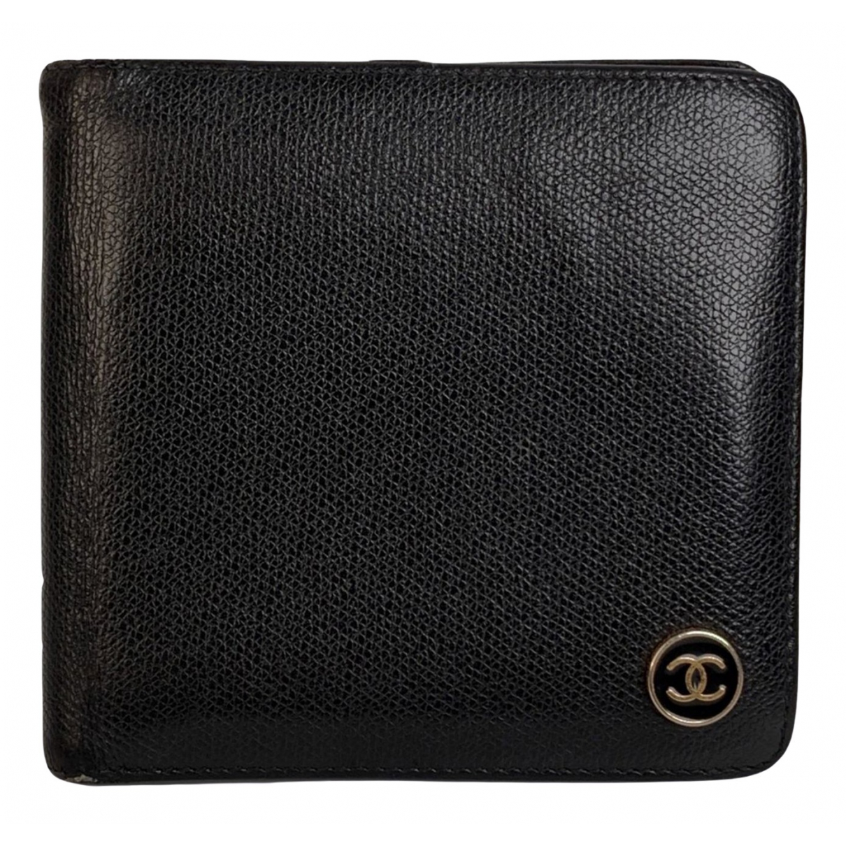 Chanel \N Black Leather wallet for Women \N