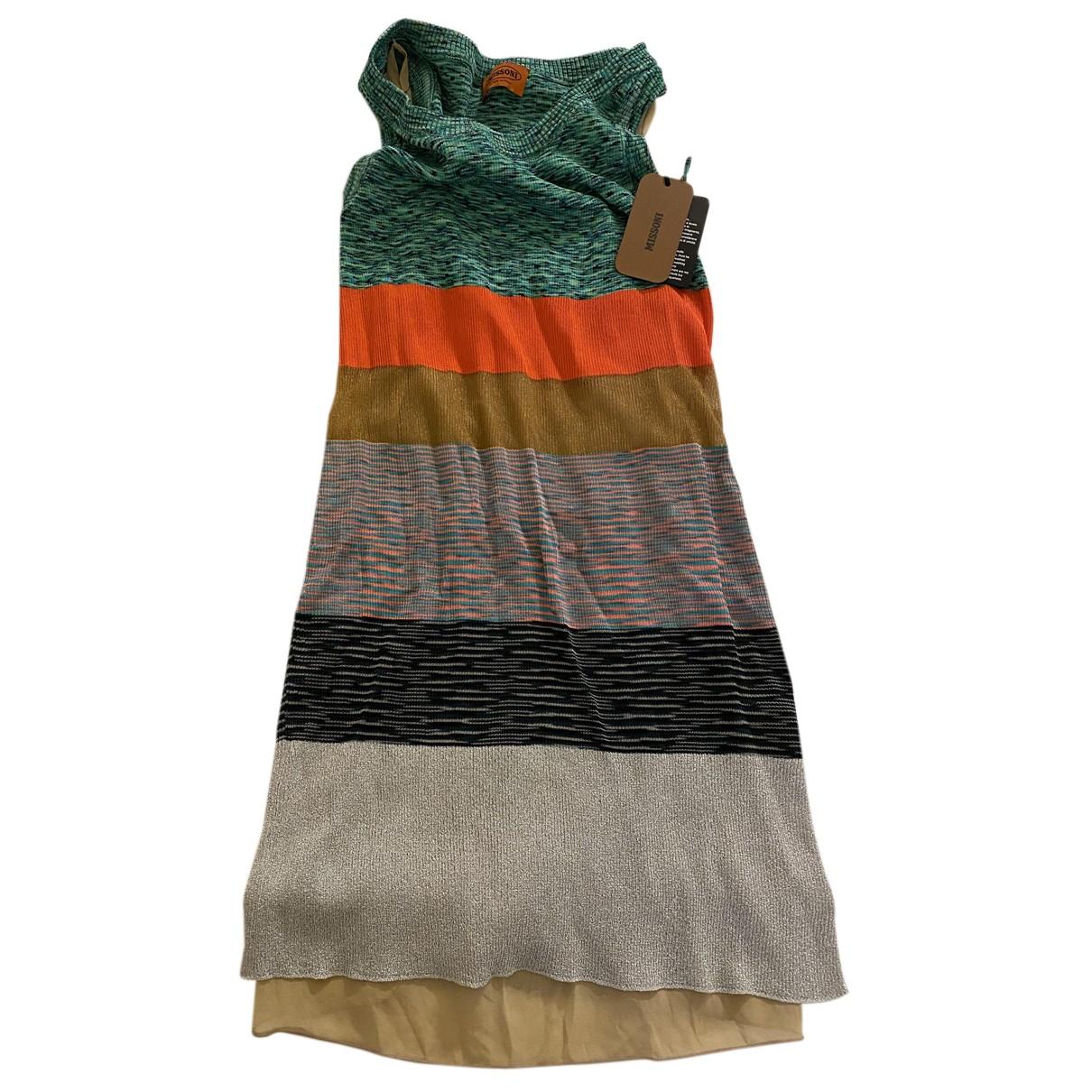 Missoni N Multicolour Cotton dress for Women 42 IT