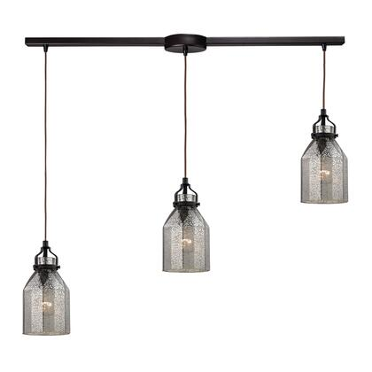 46009/3L Danica Collection 3 Light chandelier in Oil Rubbed
