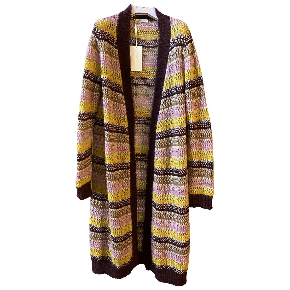 Momoni - Pull   pour femme en laine - multicolore